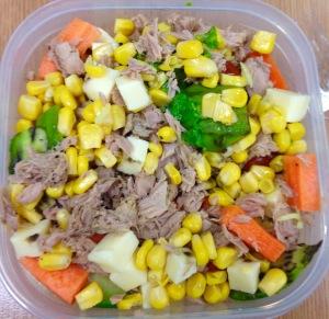 Tuna and Rice Lunch